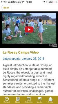 Le Rosey Summer Camps screenshot 3