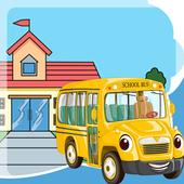School Bus Games Free: Boys icon