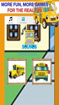 School Bus Games Free: Boys poster