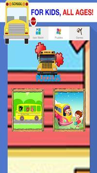 School Bus Games Free: Boys screenshot 11