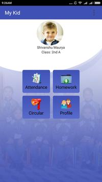 My Kid: School App For Parents poster