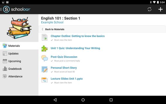 Schoology apk baixar grtis educao aplicativo para android schoology apk imagem de tela stopboris Image collections
