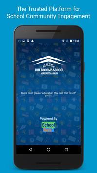 HillBlooms School poster