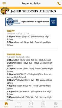 Jasper High School Athletics screenshot 1