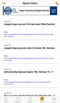 Jasper High School Athletics screenshot 4