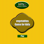 vegetable names for kids icon