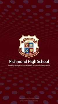 Richmond High School OFFICIAL poster