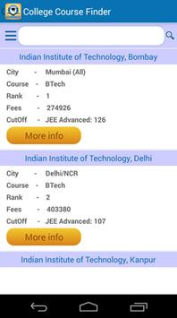 College Course Finder screenshot 1