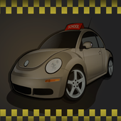School Race Car icon