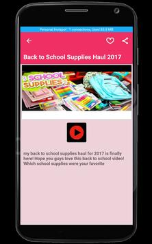 DIY School Supplies Ideas screenshot 5