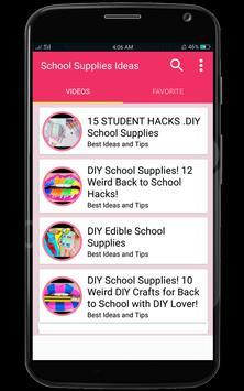 DIY School Supplies Ideas screenshot 1