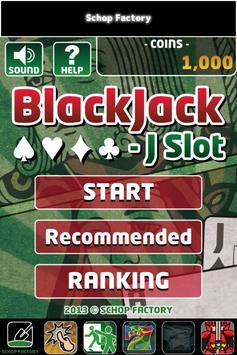BlackJack - J Slot poster