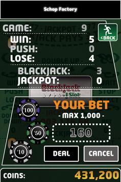 BlackJack - J Slot apk screenshot