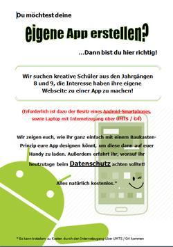 Webdroid - Projektwoche GF poster