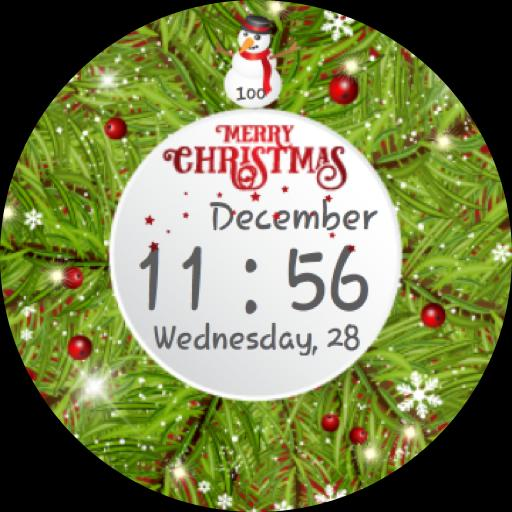 SC Christmas Watch face (Unreleased) poster