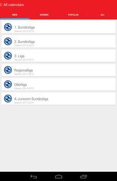 Bundesliga Spielplan 2017/2018 apk screenshot