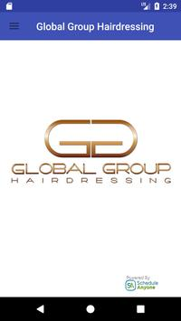 Global Group Hairdressing poster