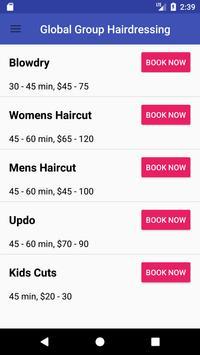 Global Group Hairdressing screenshot 1