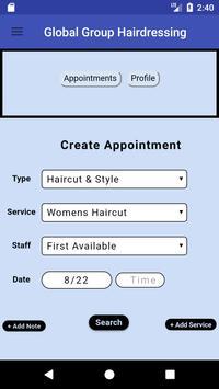 Global Group Hairdressing screenshot 2