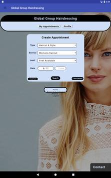 Global Group Hairdressing screenshot 7