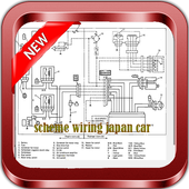 Scheme Wiring Japan Car icon
