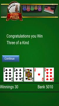 Video Poker apk screenshot
