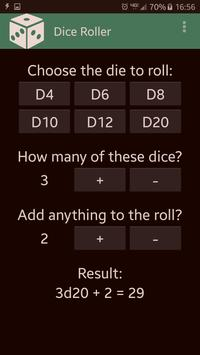 Dice Roller poster