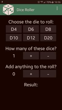 Dice Roller apk screenshot