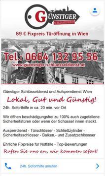 Schlüsseldienst Wien poster