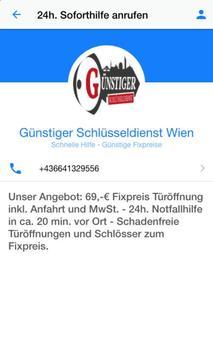 Schlüsseldienst Wien screenshot 1