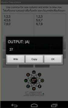 Matrix Calculators screenshot 10