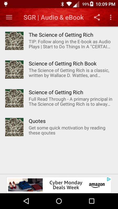 The Science Of Getting Rich Audioebook For Android Apk Download