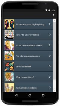 Humanities apk screenshot