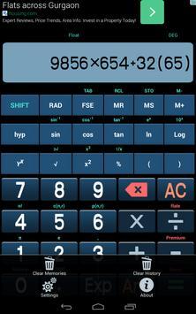 Scientific Calculator apk screenshot