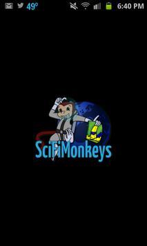 SciFi Monkeys poster