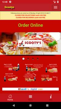 Scootys Pizza BD3 poster