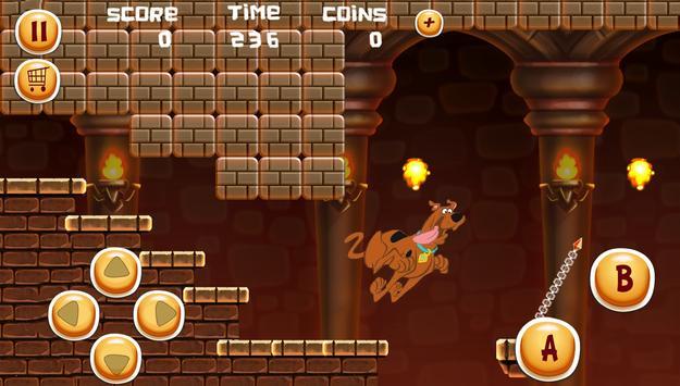 Adventures Scooby Run World Heroo apk screenshot
