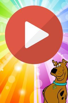 Scooby doo papá Baile del marciano poster