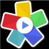Scoompa Video: Создатель слайд-шоу и видеоредактор иконка