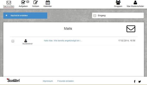 Scolibri screenshot 8