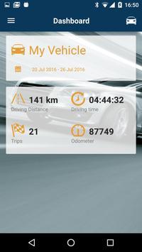 DriveProfiler Connected Car apk screenshot