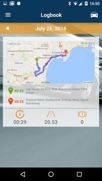 DriveProfiler Connected Car apk screenshot