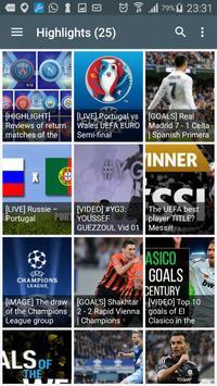 Goals Highlight apk screenshot