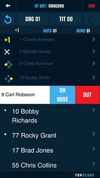 Top Score Baseball screenshot 2