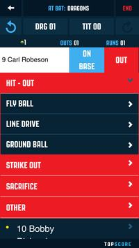 Top Score Baseball screenshot 3