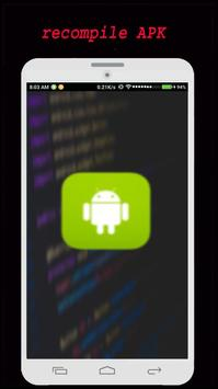 Recompile APK poster
