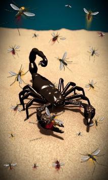 Scorpion Free live wallpaper apk screenshot