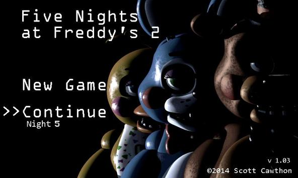Five Nights at Freddy's 2 Demo постер
