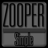 Simple - Zooper Widget Pro icon