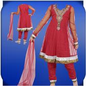 Indian Girls photo dress icon